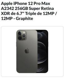 Vendas de Iphone 12 pro Max 128Gb e 256Gb