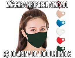 Máscara Neoprene atacado acima de 1.000 unidades