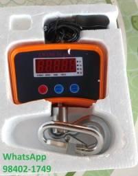 Balança De Gancho Até 500Kg bateria 80Horas