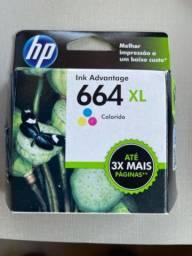 Cartuxo para impressora HP ink advantage 664 colorido