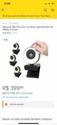 Título do anúncio: Webcam WB Pro