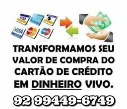 DINHEIRO - CARTÃO