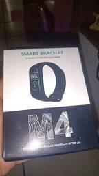 Smart Band M4 Nova na caixa -vermelha