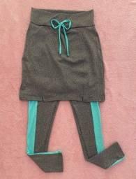 Calça com saia tamanho M (entrega grátis)