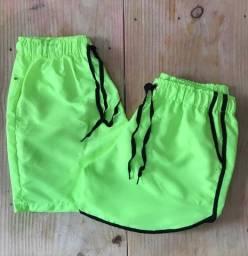 Shorts neon, cores lindas, nova sensação do momento, moda praia, verão 2021