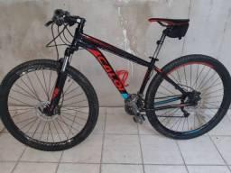 Bicicleta Caloi aro 29 Explorer Expert 27v toda alivio