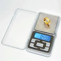 Mini Balança Digital De Precisão 01gramas a 01gramas Até 500gramas