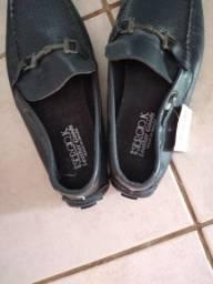 Sapato mocassim masculino de couro 40