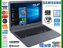 Título do anúncio: Notebook Samsung Core i3, 4GB, HD 1TB, Tela 15.6?, VGA Intel, Novíss, Cx, Nota, Gar, Troco