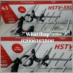 Melhor sinal para sua tv antena externa antena externa