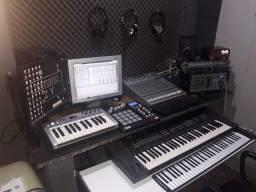 Gravaçao mixagem masterizaçao de sua musica estudio