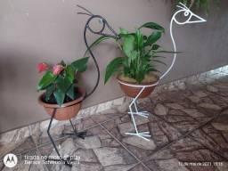 Título do anúncio: Flamingo de jardim