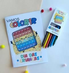 Título do anúncio: Kit colorir