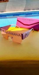 Título do anúncio: Óculos Dolce & Gabanna Pink rosa na caixa