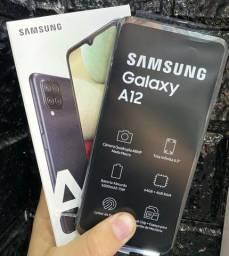 Título do anúncio: Samsung A12 64GB lacrado