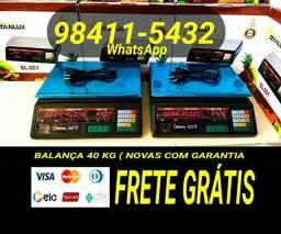 Título do anúncio: BALANÇA N COMERCIAL DIGITAL ELETRÔNICA 40 KGS