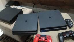 PS4 slim semi novo