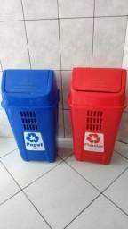 Lixeiras para reciclável