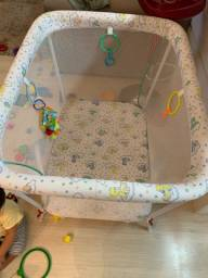 Cercadinho para Bebê Tubline Little Baby - Desmontável até 30kg