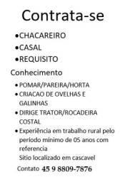 Contrata Chacareiro
