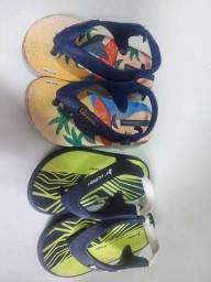 Título do anúncio: Sandalias tamanho 19 e 22