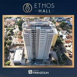 Ethos Hall, apartamento com 3 suítes, no centro de Dourados