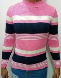 Blusinha tricô tamanho único