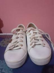 Calçado moleca cor branco