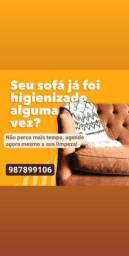 Higienização a Seco de sofá,colchões e  outros...