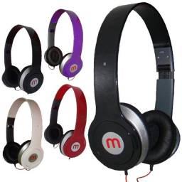 Fone De Ouvido Headphone Altomex A-569 Com Fio P2