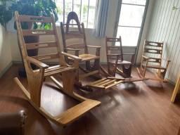 Cadeira de balanço - adulto e criança