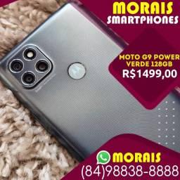 (Oferta Exclusiva) Motorola G9 Power 128Gb Verde Pacífico (Bateria 6.000 Mil Amperes)
