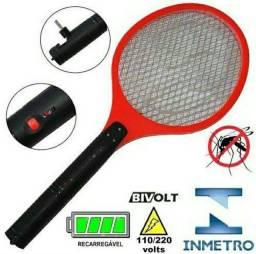 Raquete Elétrica Bivolt Mata Mosquitos