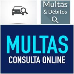 Consulta Multas, Débitos(Veículos:Moto, Carro, Caminhão...)