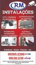 Instalação de câmeras/ eletricista