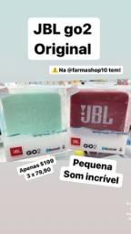 Jbl go2 caixinha som original lacrada loja Timoteo mg