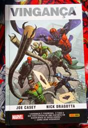Quadrinho Marvel Vingança (CAPA DURA)