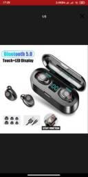 Fone de Ouvido microDot Air Sem Fio Bluetooth TWS F9<br><br>