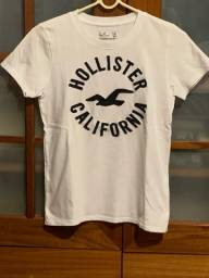 Camiseta da holister branca original