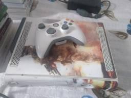 Xbox 360 fat seminovo