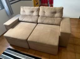 Sofá de 3 lugares reclinável