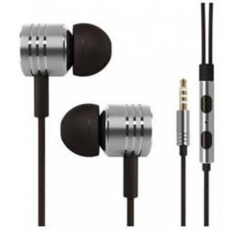 Fone De Ouvido Mex Xm-66F Com Microfone Atende Chamadas Fio conector P2