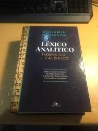 Livro Léxico Analítico do Hebraico