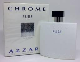 Perfume Azzaro Chrome Pure 100 Ml Masculino Original