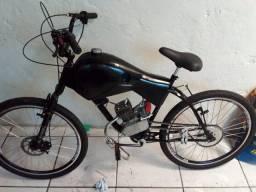 Vendo bicicleta motorizada  zero. Nunca rodou zera.