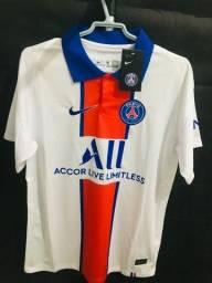 Camisa do PSG Branca 2021 Tailandesa 1.1