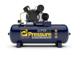 Compressor de Ar 20 Pés 200 Litros Trifásico Super AR Pressure ( pronta entrega)