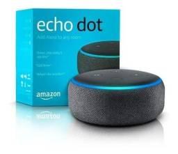 Alexa Amazon Echo Dot 3 Geração - Preto