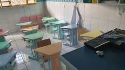 Conjunto de mesa e cadeiras infantil desk