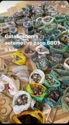 Sucata de catalisadores automotivo pago 600$ o kilo